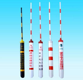 廠家生產拉線護套、警示管,電力拉線紅白反光拉線護套,黑黃斜拉線護套