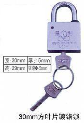 廠家供應優質30mm葉片掛鎖,農網改造招標塑鋼電力梅花表箱鎖,通用塑鋼電力表箱鎖
