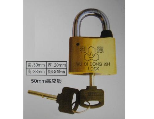 廠家供應50mm感應掛鎖,電力計量箱通開掛鎖,一把鑰匙開多把鎖,優質電力表箱鎖廠家